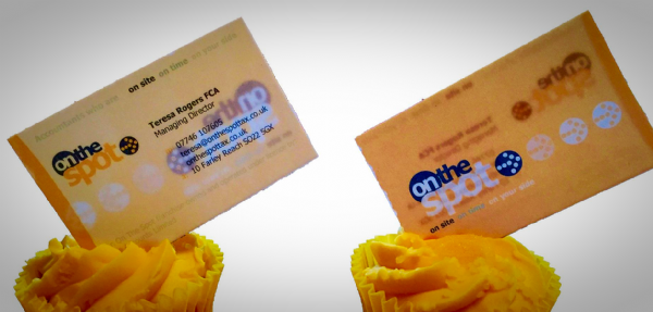 Edible cake toppers decoration - Edible Business Cards
